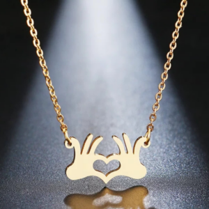 Palm Heart Necklace