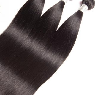 Brazilian straight human hair 3 bundles